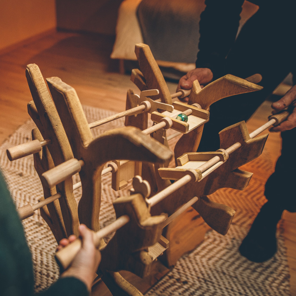 Bête à bois - Jeux de coordination, coopération